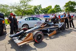 Разбитая машина Джозефа Ньюгардена, CFH Racing Chevrolet