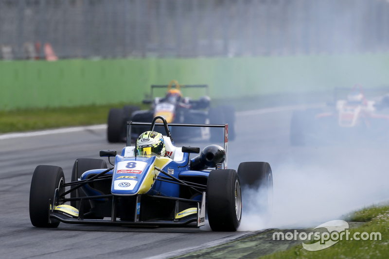 Alessio Lorandi, Van Amersfoort Racing, Dallara Volkswagen mit stehendem Rad