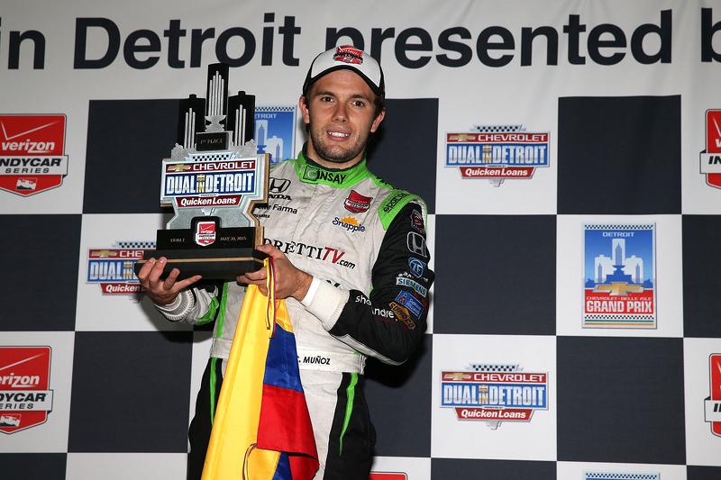 1. Carlos Munoz, Andretti Autosport, Honda