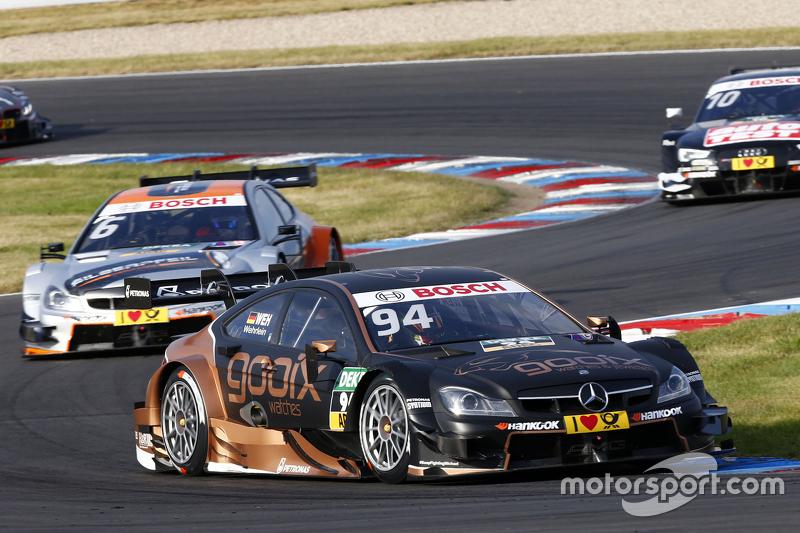 Паскаль Верляйн, Mercedes-AMG C 63 DTM и Роберт Уикенс, Mercedes-AMG C 63 DTM