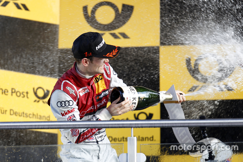 Podium: Jamie Green, Audi Sport Team Rosberg Audi RS 5 DTM