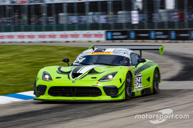 #54 Black Swan Racing Dodge Viper GT3R: Tim Pappas at Detroit