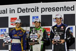 Карлос Муньос, Andretti Autosport Honda, Марко Андретти, Andretti Autosport Honda, Симон Пажено, Team Penske Chevrolet
