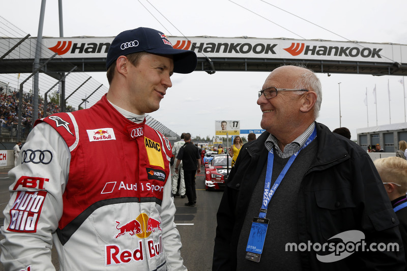 Mattias Ekström, Audi Sport Team Abt Sportsline, Audi A5 DTM, mit Stig Blomqvist,