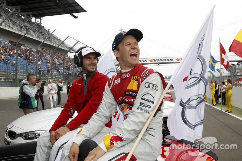 Miguel Molina, Audi Sport - Takım: Abt Audi RS 5 DTM ve Mattias Ekström, Audi Sport - Takım: Abt Spo