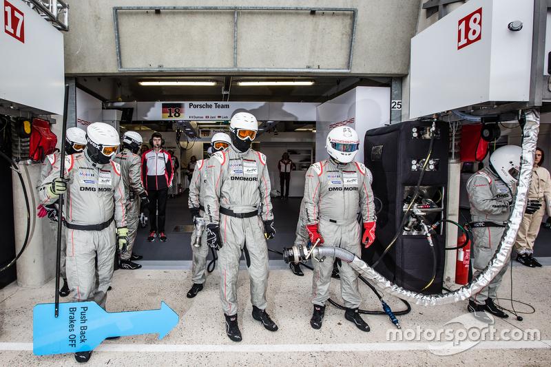 Porsche Team, Porsche 919 Hybrid, Teammitglieder