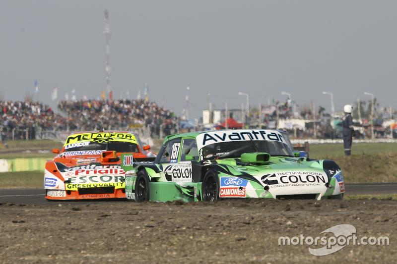 Juan Bautista de Benedictis, Alifraco Sport, Ford, und Jonatan Castellano, Castellano Power Team, Dodge
