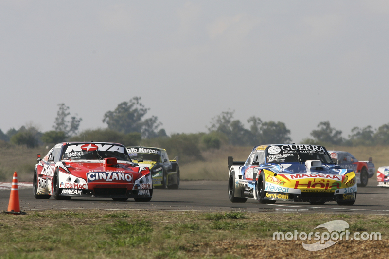 Luis Jose di Palma, Indecar Racing, Torino, und Matias Rossi, Donto Racing, Chevrolet