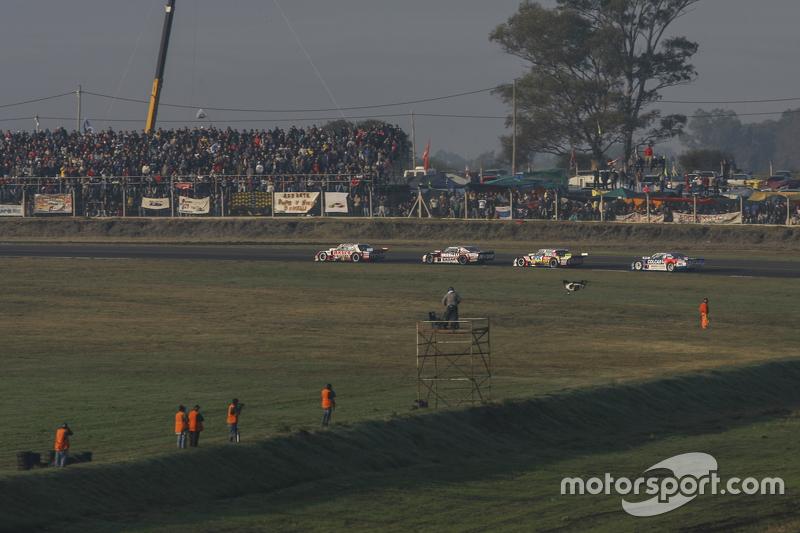 Juan Manuel Silva, Catalan Magni Motorsport Ford dan Matias Rossi, Donto Racing Chevrolet dan Juan Pablo Gianini, JPG Racing Ford dan Matias Rodriguez, UR Racing Dodge