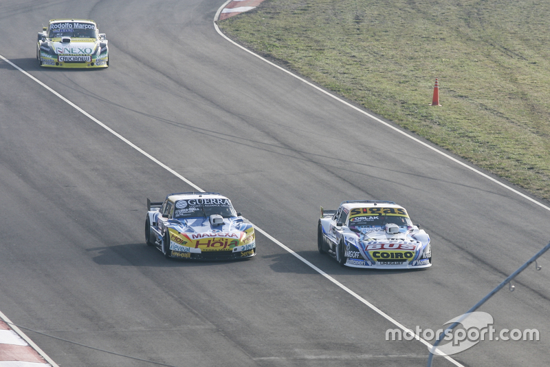 Mauricio Lambiris, Coiro Dole Racing, Torino; Luis Jose di Palma, Indecar Racing, Torino, und Omar M