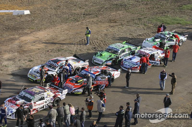 Technische Abnahme: Camilo Echevarria, Coiro Dole Racing, Torino; Guillermo Ortelli, JP Racing, Chev