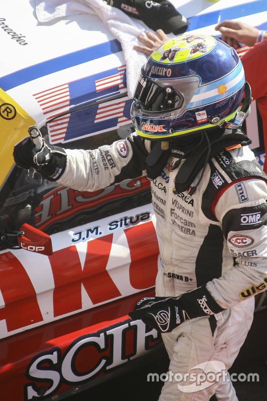 Race winner Juan Manuel Silva, Catalan Magni Motorsport Ford