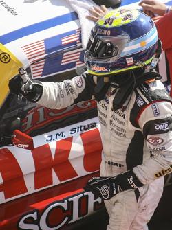 Racewinnaar Juan Manuel Silva, Catalan Magni Motorsport Ford