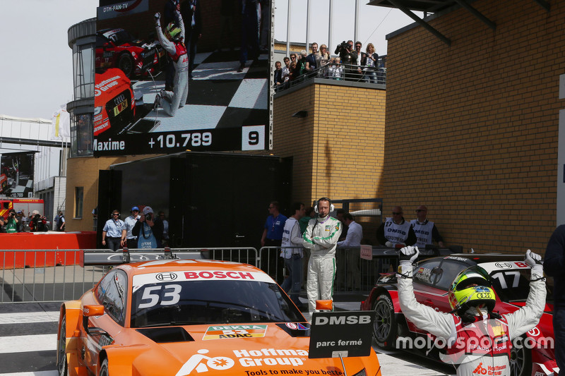 Polesitter and race 1 and 2 winner Jamie Green, Audi Sport Team Rosberg Audi RS 5 DTM