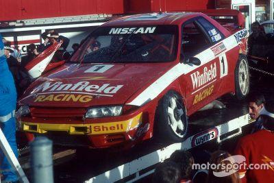Rick Kelly fährt den Nissan GTR von 1992