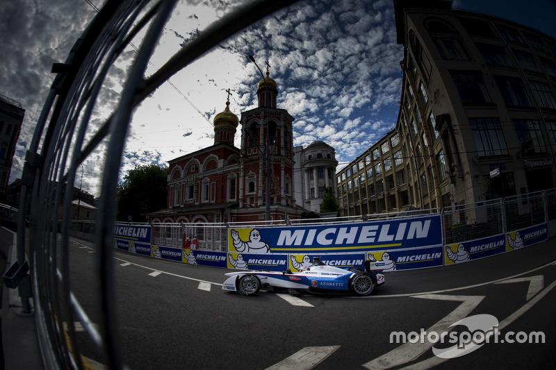 Jean-Eric Vergne, Andretti Autosport Moscú ePrix
