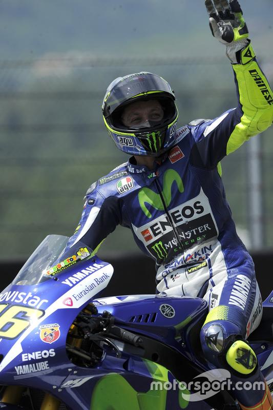 Peringkat ketiga Valentino Rossi, Movistar Yamaha MotoGP