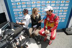 Нельсон Пике-мл., China Racing, и Лукас ди Грасси, Audi Sport Team Abt