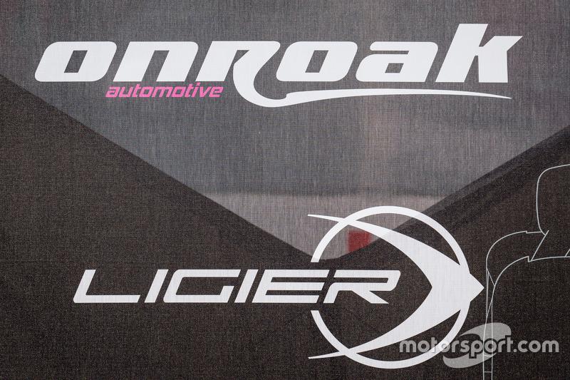 OAK Racing transporter and logo / signage