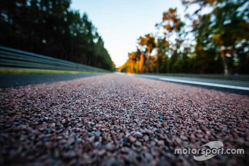 Bahu jalan baru di trek 24 Hours of Le Mans
