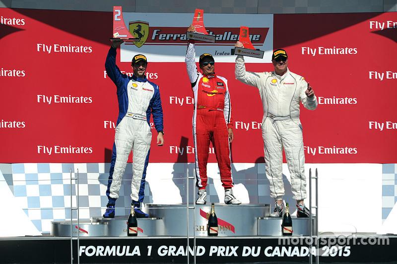 Podium: 1. #8 Ferrari of Ft. Lauderdale, 2. Marc Muzzo, 3. Steve Johnson
