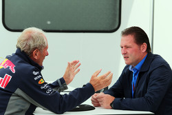 Д-р Хелмут Марко, Red Bull Motorsport Consultant з Йос Верстаппен