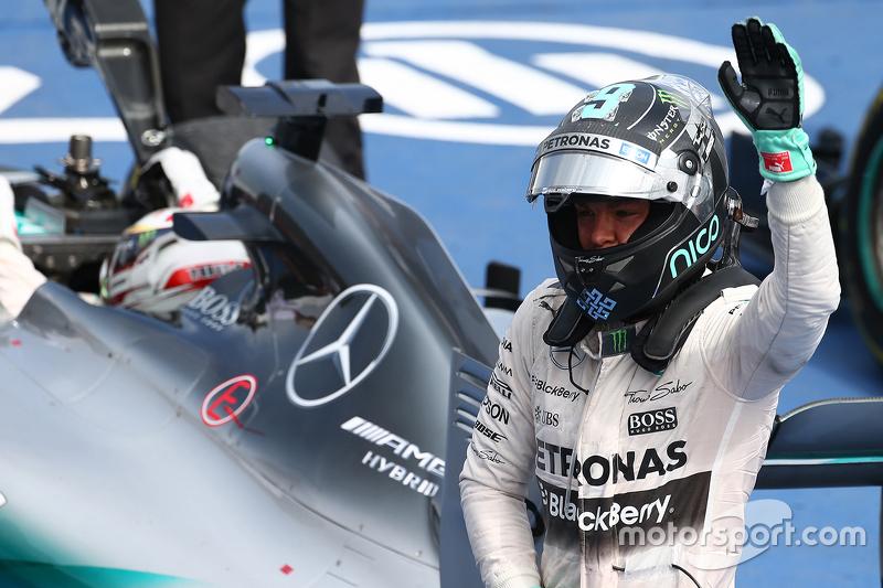 Podium: Second place Nico Rosberg, Mercedes AMG F2