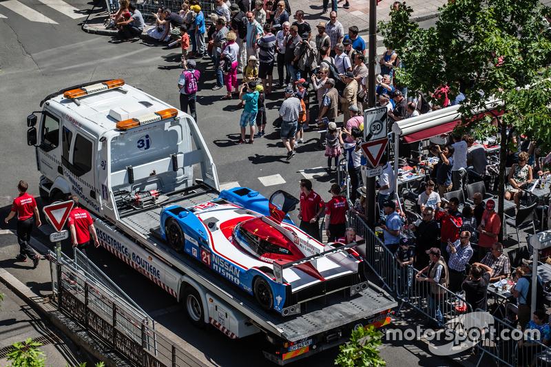 #21 Nissan Motorsports, Nissan GT-R LM NISMO