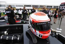Helmet of Jenson Button, McLaren Honda
