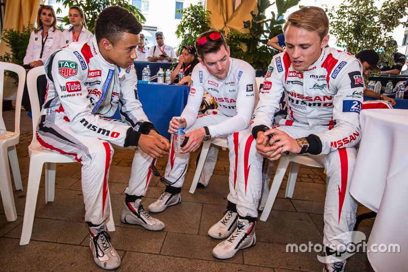 Nissan Motorsports: Jann Mardenborough, Alex Buncombe and Max Chilton