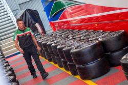 Michelin tires in AF Corse Ferrari