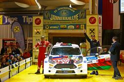 Алексей Лукьянюк, Ford Fiesta R5, старт ралли