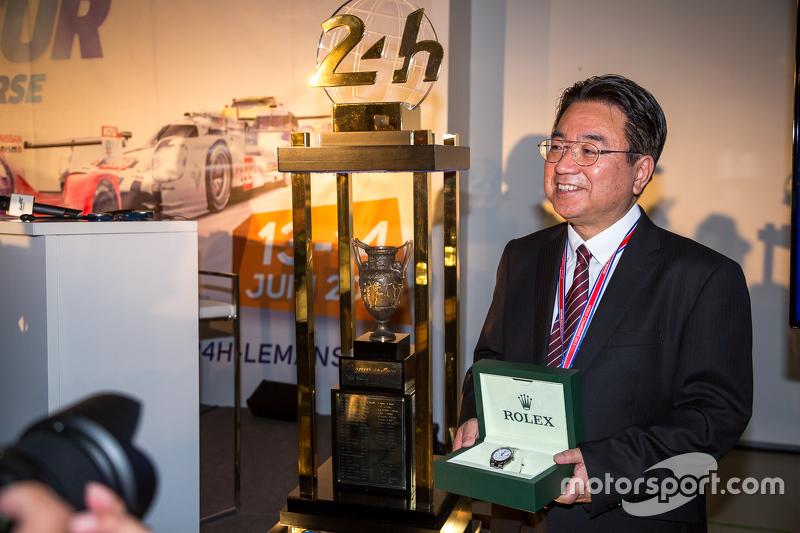 Yoshiaki Kinoshita, Spirit of Le Mans winner
