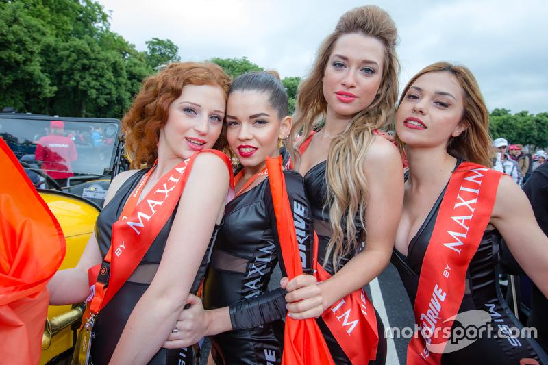 Die bezaubernden Girls von G-Drive