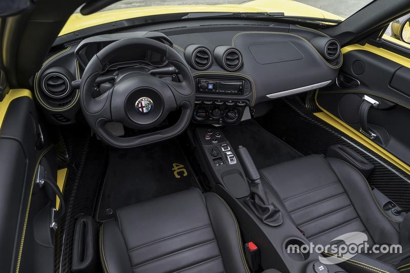 Der Alfa Romeo 4C Spider 2015