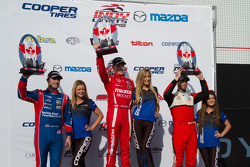 Podium: 1. Spencer Pigot, 2. Jack Harvey, 3. Felix Serralles