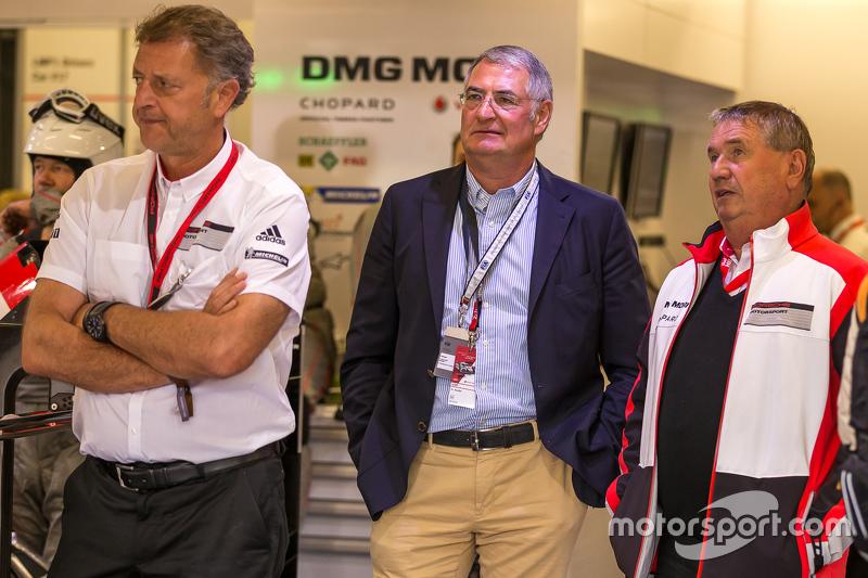 Dr. Heinz-Jakob Neusser, Head of Powertrain Development of Volkswagen AG