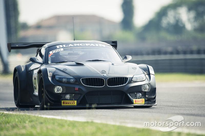 Timo Glock, Alex Zanardi, Bruno Spengler melakukan tes BMW Z4 GT3 untuk ROAL Motorsport