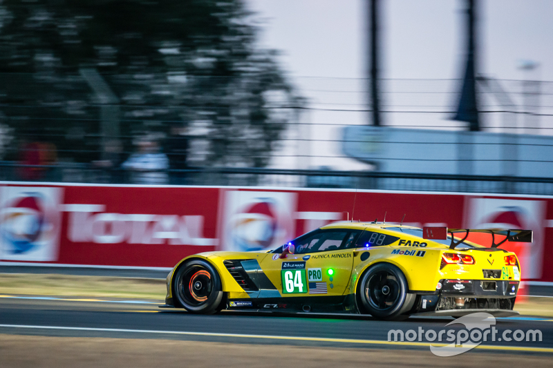 Gavin's most recent Le Mans win was 2015, when he shared the C7.R with Tommy Milner and Jordan Taylor.