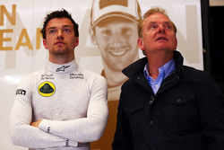 Jolyon Palmer, Lotus F1 Team Test en vader Jonathan Palmer