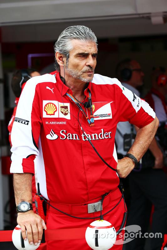 Maurizio Arrivabene, chefe da Ferrari