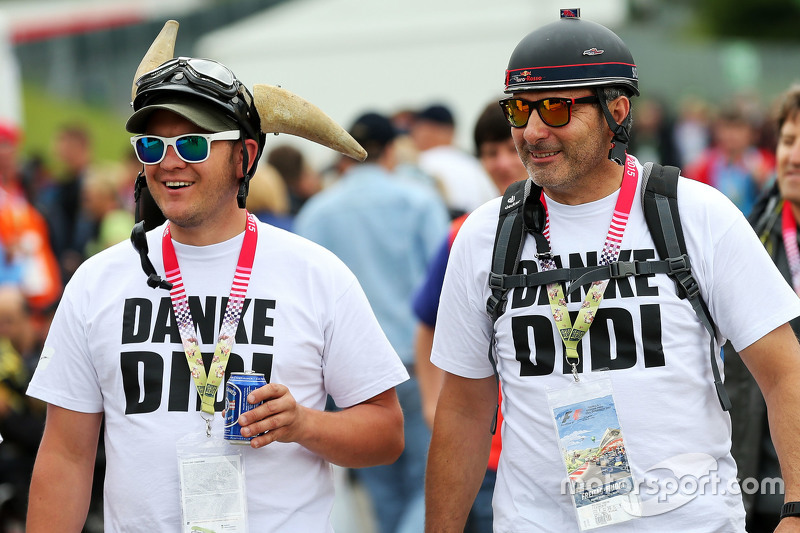 Fans Red Bull Racing