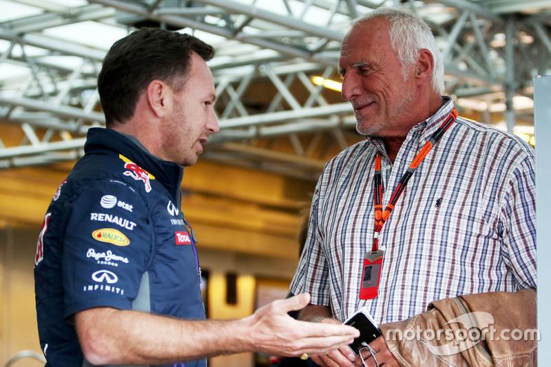 Крістіан Хорнер, Red Bull Racing Керівник команди з Dietrich Mateschitz, CEO та Founder of Red Bull