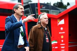 Гюнтер Штайнер, руководитель Haas F1, и президент Haas Automotion Джин Хаас