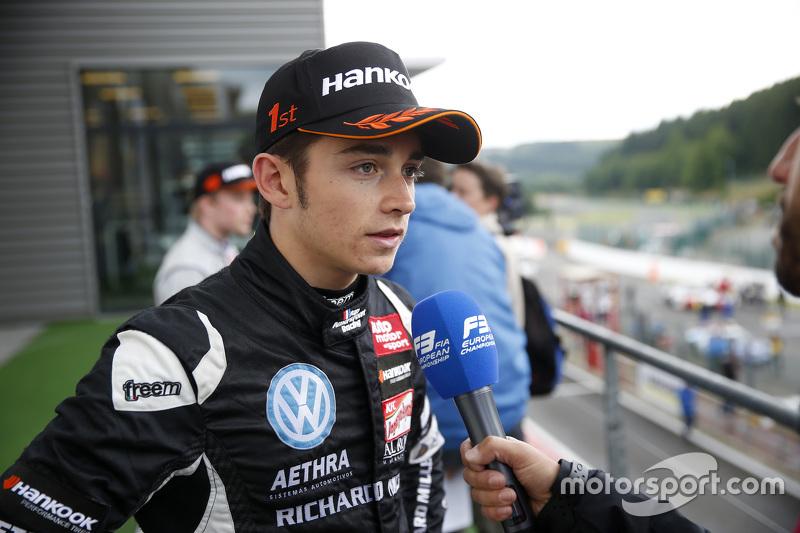 1. Charles Leclerc, Van Amersfoort Racing, Dallara F312 Volkswagen