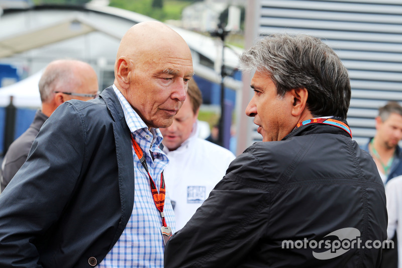 Пітер Бребек-Летмат, Formula One Chairman з Паскуале Латтенедду, з FOM