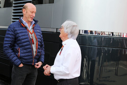 Donald Mackenzie, CVC Capital Partners Managing Partner, Co Head of Global Investments with Bernie Ecclestone,