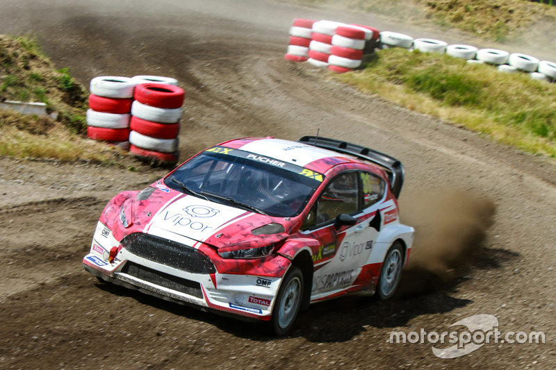 Max Pucher, World RX Team Austria Ford Fiesta
