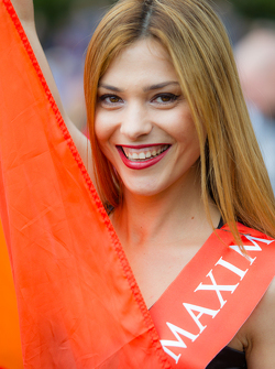 A lovely G-Drive Racing girl