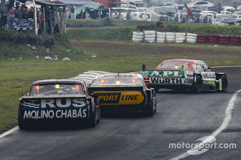 Juan Martin Trucco, JMT Motorsport, Dodge; Leonel Pernia, Las Toscas Racing, Chevrolet, und Emanuel